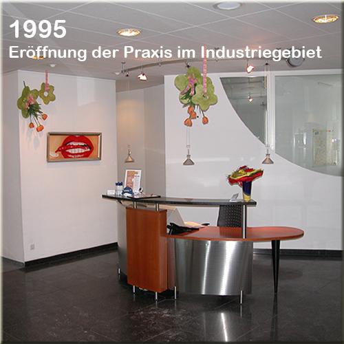 über uns - Eröffnung Zahnarzt Strohkendl Stuttgart